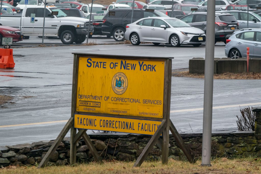 The Taconic Correctional facility in Bedford Hills, New York