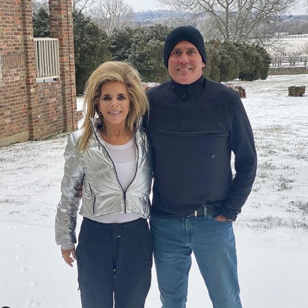 Gwen Shamblin Lara with husband William Joseph Lara