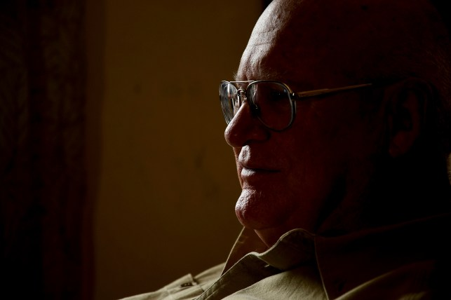 Don Edmunds, a 25-year-old U.S. Army veteran who has served in Vietnam, sits in his room in Sheen, Wyoming.