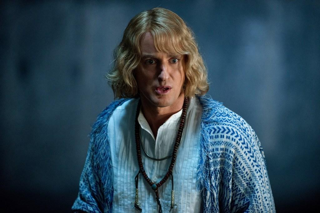 """Owen Wilson in the sequel to """"Zoolander."""""""