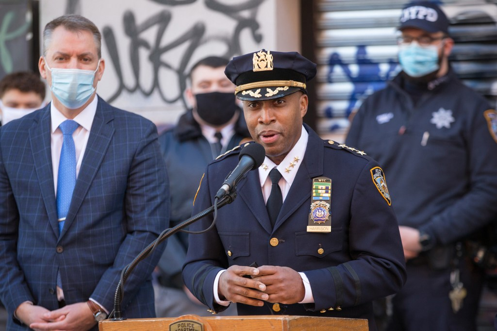 NYPD Chief of Detectives Rodney Harrison