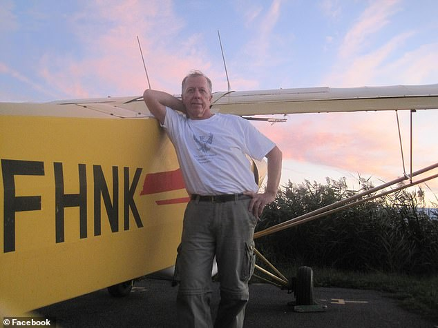 The plane was being flown by Gian Piero Ciambella, the owner of an aerial advertising agency.