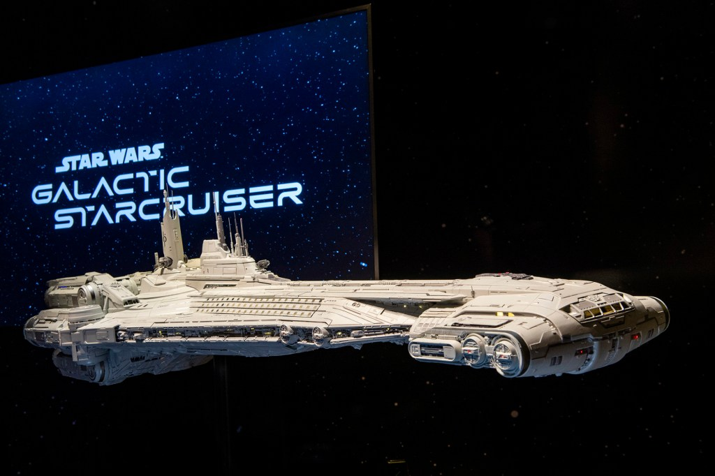 The much-anticipated Star Wars: Galactic Starcruiser hotel will open on March 1. 2022.
