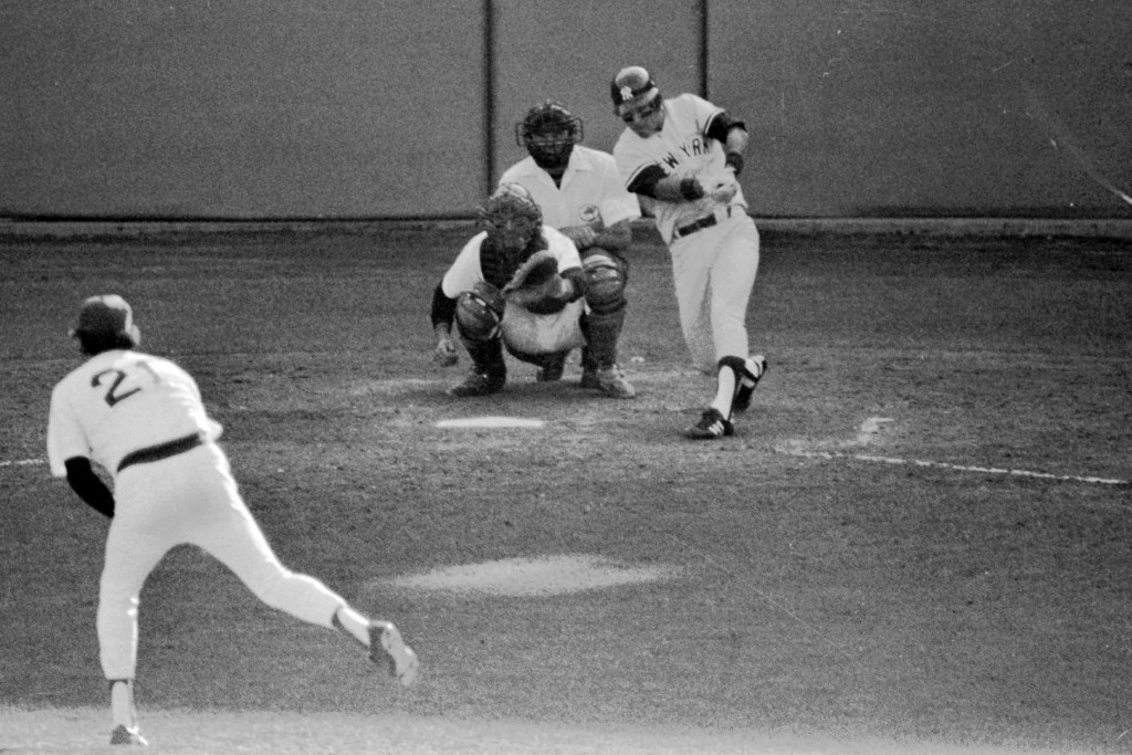 Bucky Dent's legendary home run against the Red Sox in 1978.