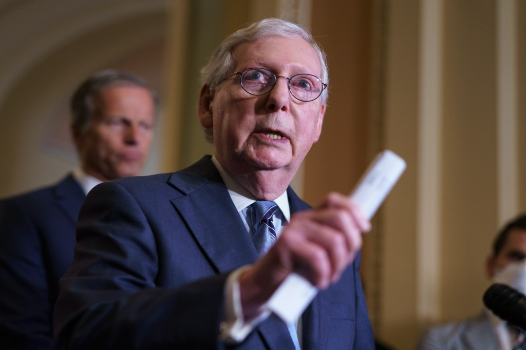 Mitch McConnell and Lindsey Graham questioned the CBO director, asking how long would it take for CBO to produce a formal cost estimate of the direct spending.