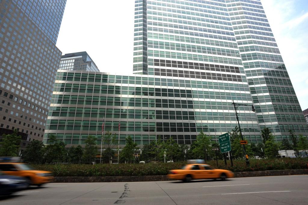 Goldman Sachs headquarters exterior