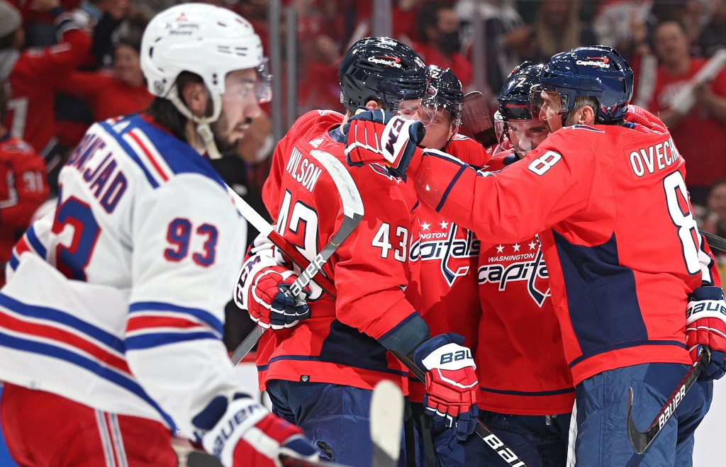 Mika Zibanejad and the Rangers had no answers for the Capitals in their 5-1 season-opening night loss.