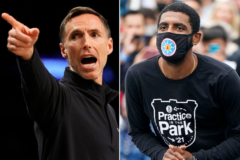 Steve Nash and Kyrie Irving