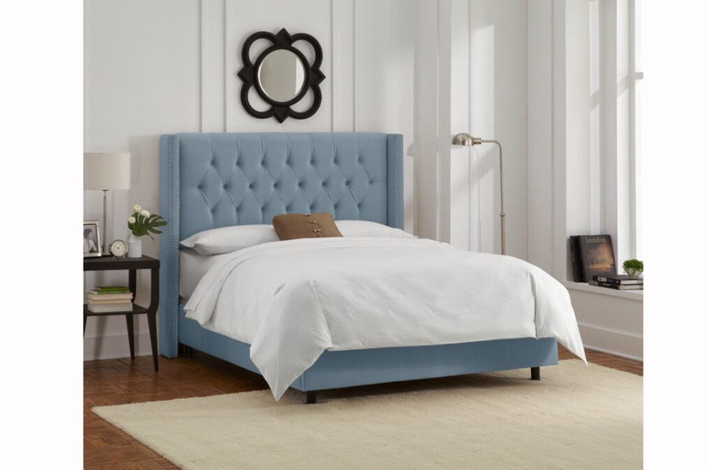 Wayfair Custom Upholstery Rita Tufted Upholstered Low Profile Standard Bed