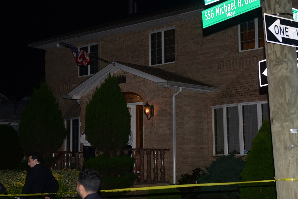 A male shot his relatives at 134 Burbank Ave.