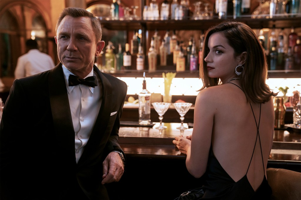 """Daniel Craig and Ana de Armas in """"No Time to Die."""""""