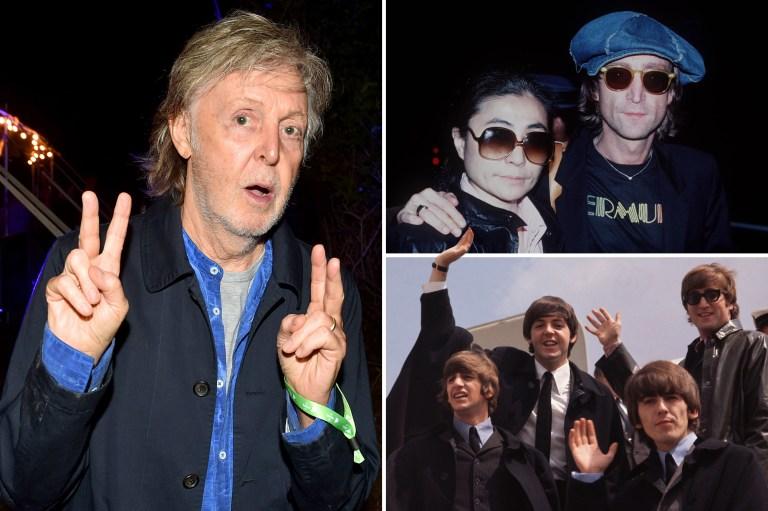 Paul McCartney blames John Lennon for The Beatles' split