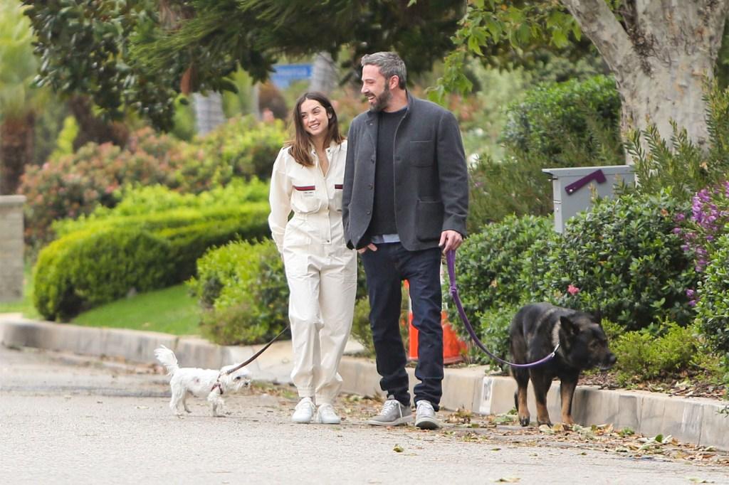 Ana de Armas with Ben Affleck