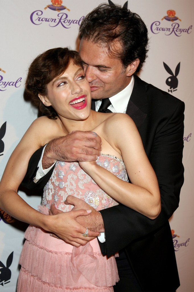 Brittany Murphy with Simon Monjack a month after they married in April 2007.
