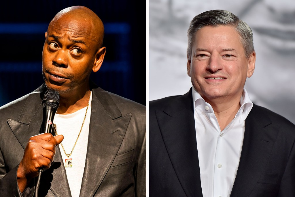 Netflix CEO Ted Sarandos addressed Dave Chappelle's controversial stand-up special.