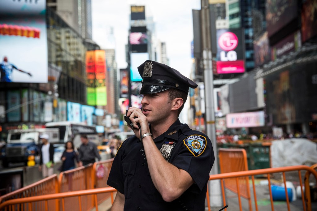 A NYPD officer