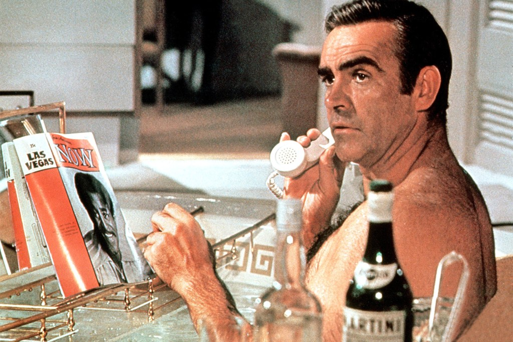 """Sean Connery returned to the series he made famous in """"Diamonds are Forever."""""""