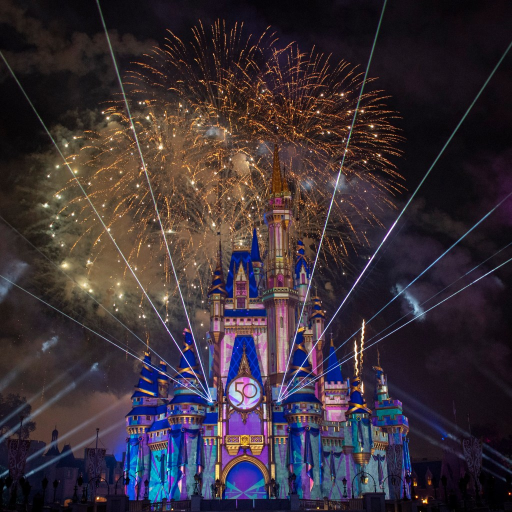 The Cinderella castle's popular nightly fireworks and video mapping show, Happily Ever After, has been retired and replaced by Disney Enchantments.
