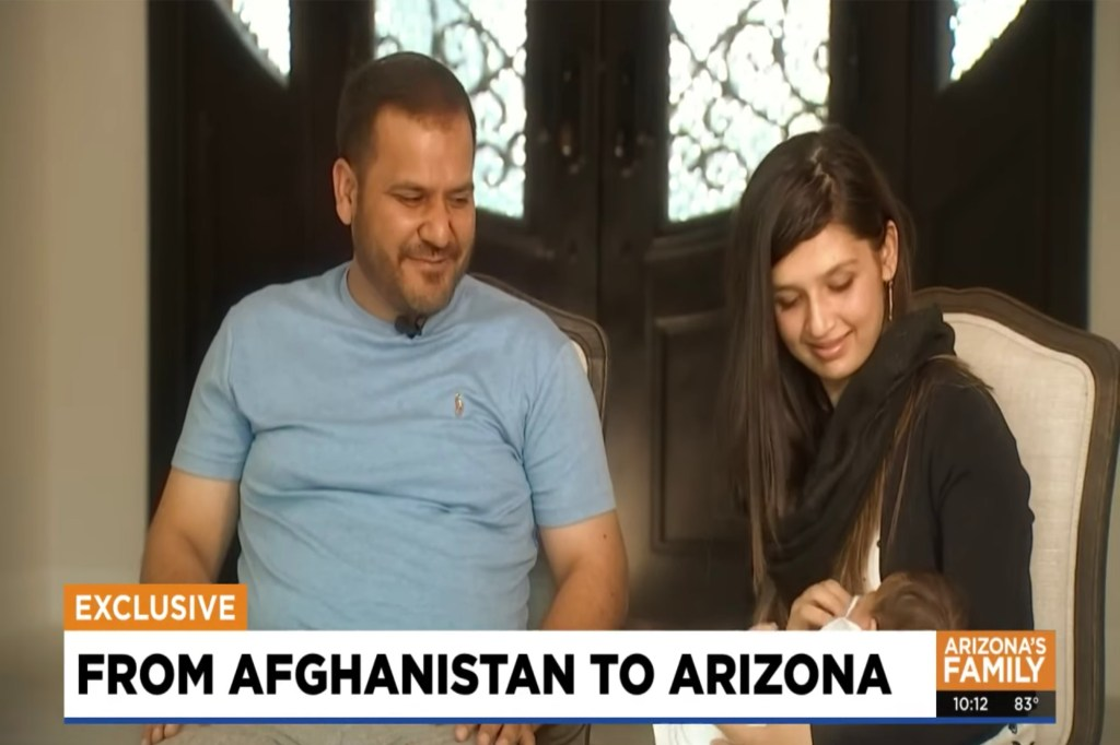 """The father Hameed said the only thing that he trusted in that point in time was that the guy he gave his daughter to """"was a Marine, and that his daughter would be safe."""""""