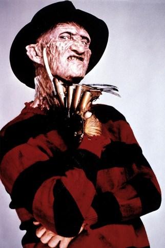 Freddy Krueger's knife-gloves actually caused nicks on set.