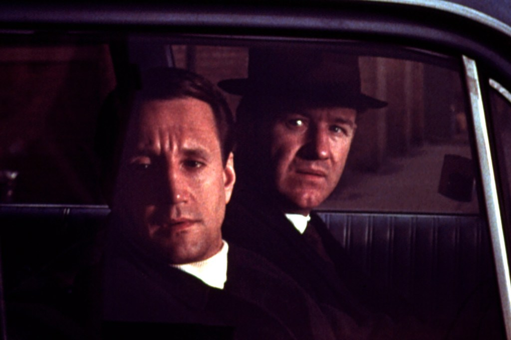 """Roy Scheider (""""Jaws,"""" """"All That Jazz"""") and Gene Hackman as NYPD partners busting a heroin-smuggling ring in """"The French Connection."""""""