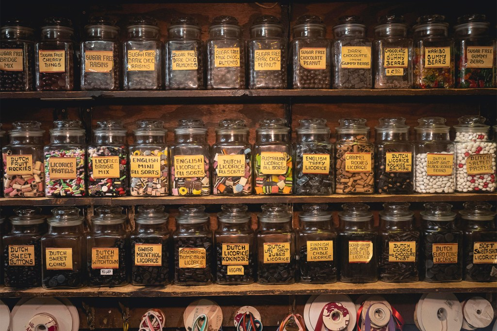 Myzel's Chocolate confectionary boasts some 150 varieties of European licorice.