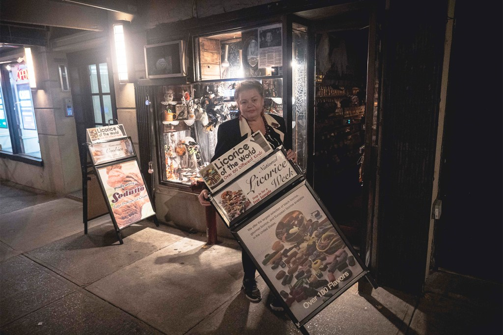 Kamila Myzel, who moved to the US via political asylum from Poland, is fighting to keep her shop alive.