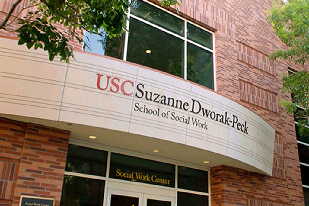 The former dean of USC's School of Social Work was looking for lucrative contracts to help alleviate its multimillion dollar budget deficit.