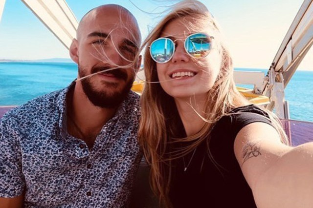 Gabby Petito and Brian Laundrie are seen in Instagram posts