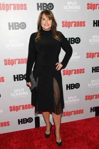"""Lorraine Bracco had tons of fun making Italian meals and sharing moments from making """"The Sopranos.'"""