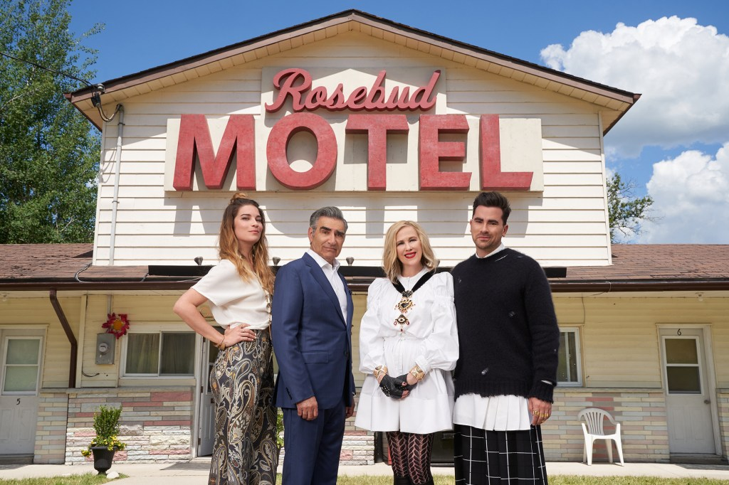 Players can even buy the famed Rosebud Motel, whose real-life version went up for sale earlier this year.