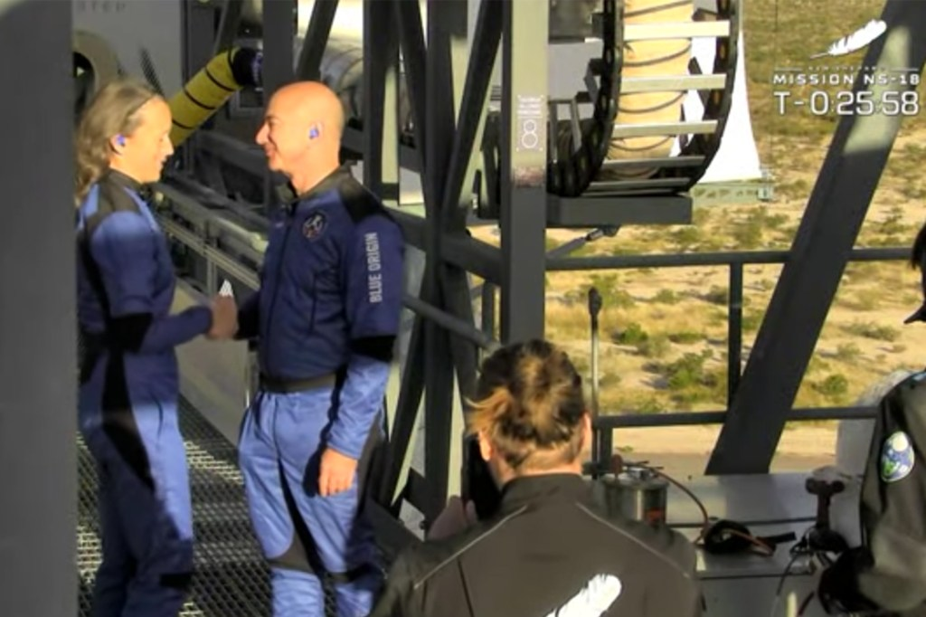 New Shepard's 18th mission, NS-18, will lift off on Wednesday, October 13, carrying four astronauts, Dr. Chris Boshuizen, Glen de Vries, Audrey Powers, and William Shatner, to space and back.