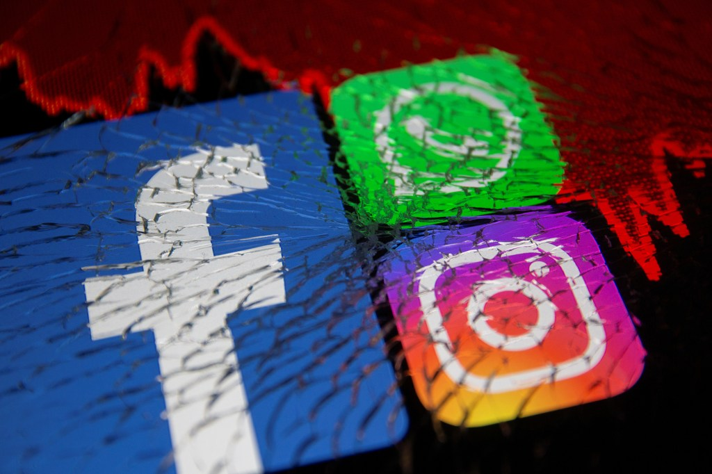 Facebook, Whatsapp and Instagram all suffered massive outages on Monday.