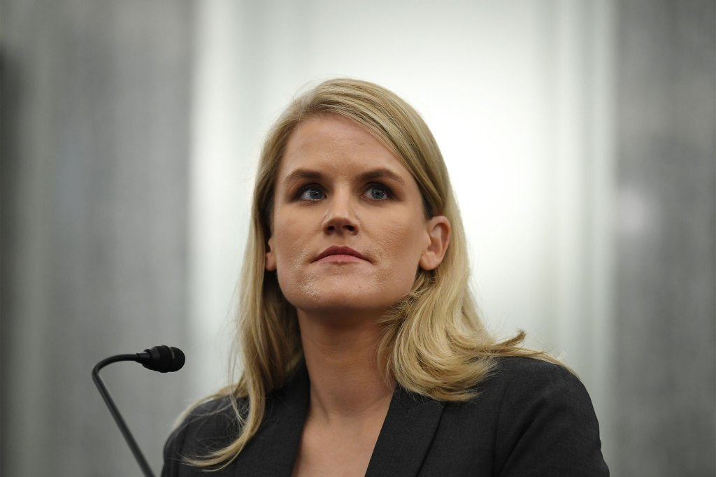 Facebook whistleblower, Frances Haugen