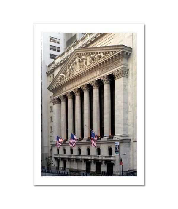 York Stock Exchange Art Print Poster