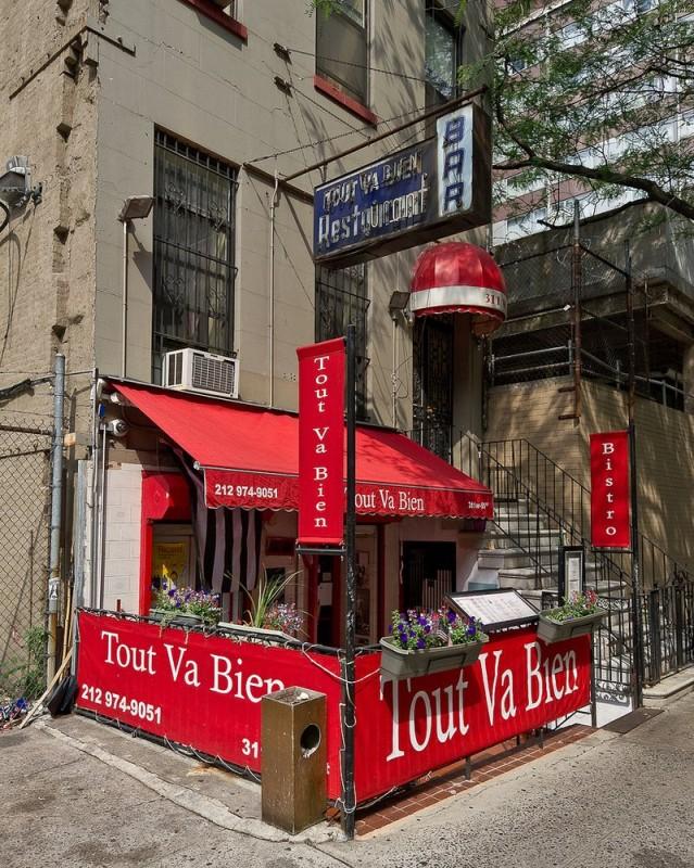 Tout Va Bien New York : Reviews,, Menu,, Reservations,, Delivery,, Address
