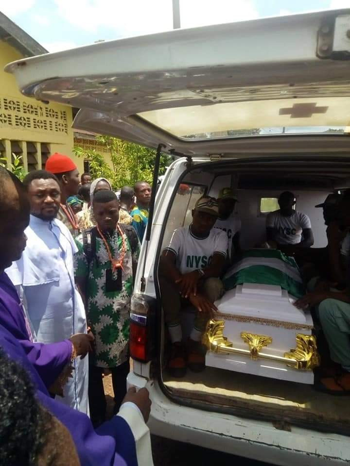 Jacinta Ndem, Corps Member who died in Katsina Crash, buried