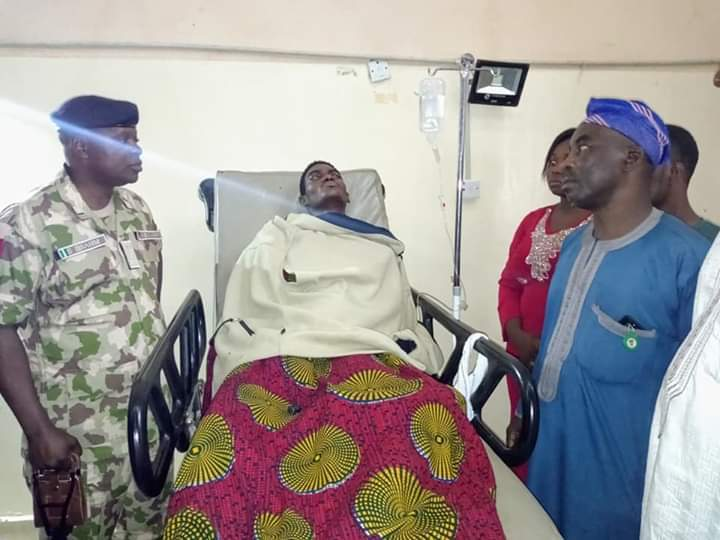 3 out of the 9 Injured Katsina Corps Members discharged