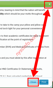 How to print nysc call-up letter with phone