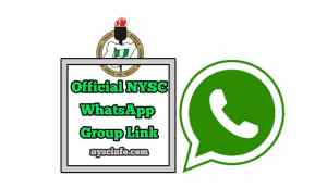 Nysc WhatsApp group