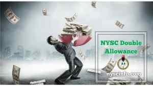 Nysc double allowance