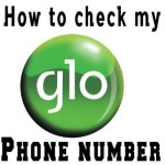Code To Check Your Glo Phone Number