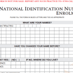 How To Register For National ID Card Online
