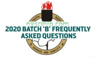 NYSC Batch B 2020 Frequently Asked Questions and Answers