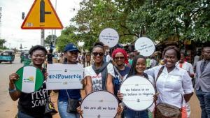 Npower protest
