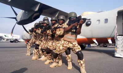 Nigerian Air Force Salary according and their Ranks