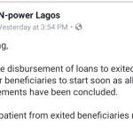 NEXIT Loan Disbursement
