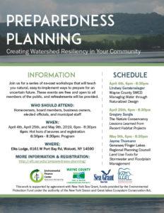 Preparedness Planning Workshops: Creating Watershed Resiliency in Your Community