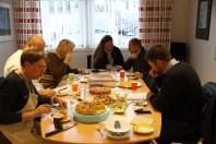 Eplekakekonkurranse der ordførar i Greve var jurymedlem.