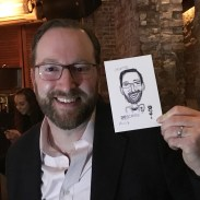 caricature marketing event